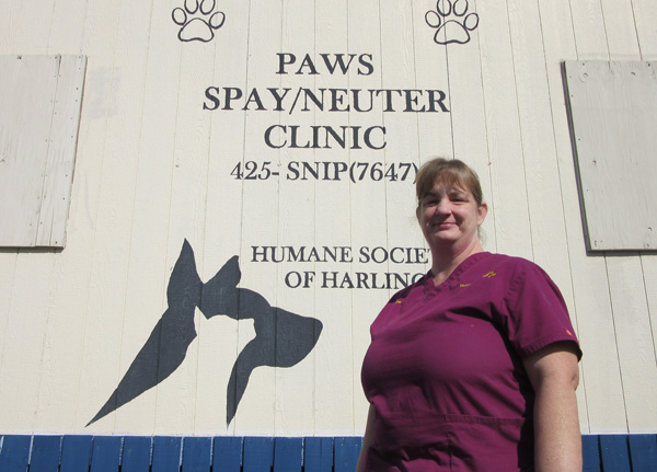 Kim Warunek oversees the Humane Society's Spay/Neuter Clinic.