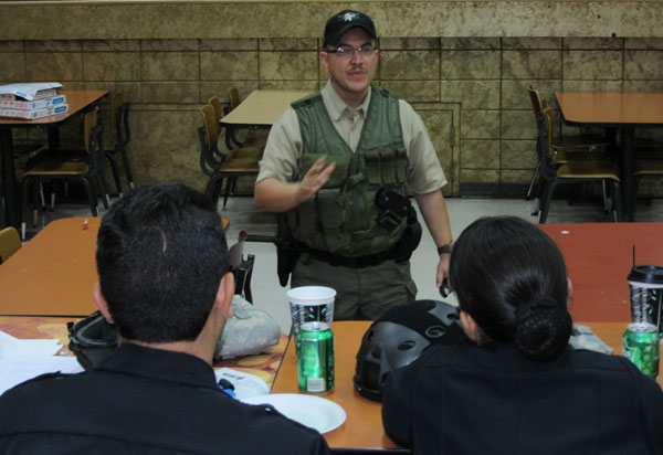 Instructor prepares officers for worst scene scenario.