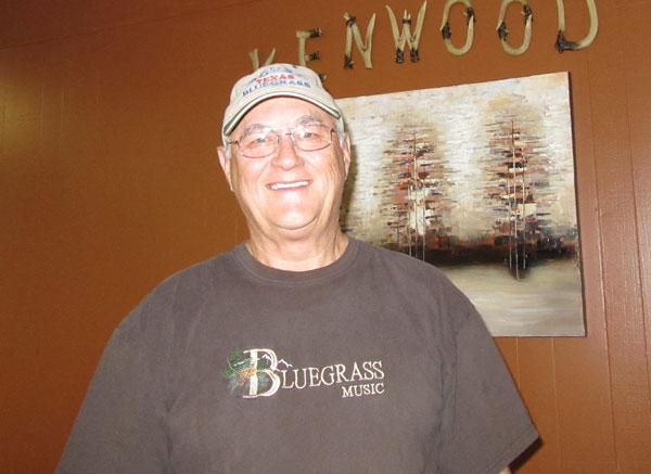 Wayne Uncer,  President of the Rio Grande Valley Bluegrass Association.