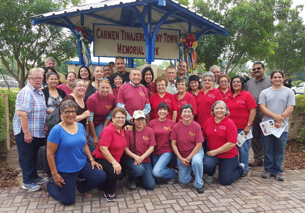 Carmen Tinajero honored by City of La Feria.