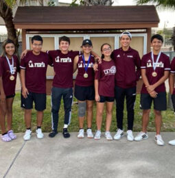 Lions Tennis Team Rules Court in Recent Tourney