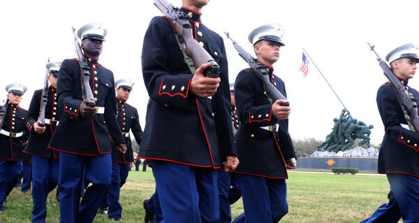 Veterans honored at 75th Anniversary of Battle of Iwo Jima ceremony
