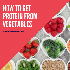 how to get protein from vegetables