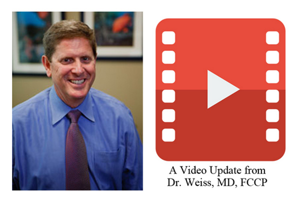 Dr. Weiss, MD. FCCP, Private Physicians Medical Association (PPMA) Updates on COVID-19 (coronavirus) and FDA ranitidine findings.