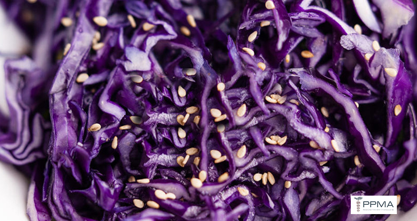 Sesame Cabbage Slaw healthy recipes nutritionist dietitian Private Physicians Medical Associates PPMA Newport Beach OC CA SoCal