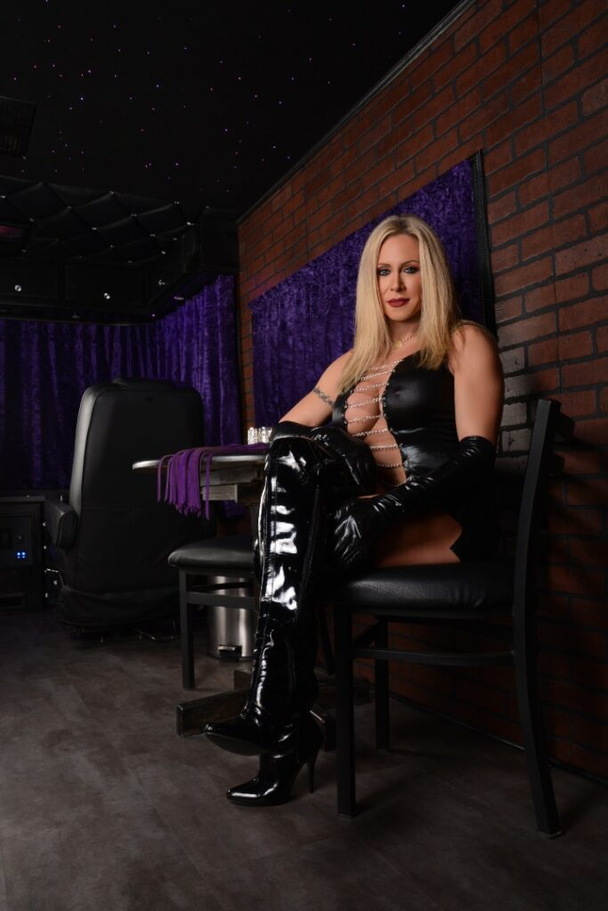 Mistress Pasha Seated