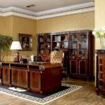 E10 study room  Desk ,76.8x39.4x31.1,/ Bookcase 6 door   108.3x18.9x78.3, Executive Chair ,28.3x33.9x42.5