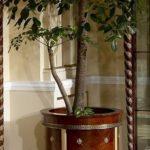 E26 round flower pot