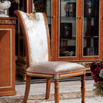 E62 dining chair B  21.25 x 27.55 x 42.51