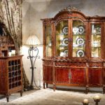 LV-751-4 DISPLAY CABINET   Top:(76xW20xH58)  Bottom: (75x19.5x35.5)  LV-752  Wine cabinet/Low Showcase (28.7Lx17.7Wx52.2H)