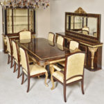 "D11 Long Dining   DINING TABLE 98 ½""L x 49""W x 31""H"