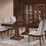 E68 dining room  Dining Table 94.48 x47.24x30.07/ 4 Door Showcase 68.50 x 22.04 x 78.74