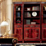 E10 4-Door Bookcase  76.W7x17.D7x78H