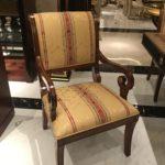 E-10 Dining Chair  arm chair  22.8 x 25.6 x 38.6