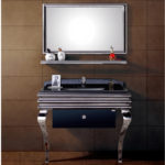 INF-3358 Vanity-32'' H x 39'' W x 21'' D  Mirror-23.6'' H x 39.3'' W x 0.7'' D  Shelf- 39'' W x 6'' D