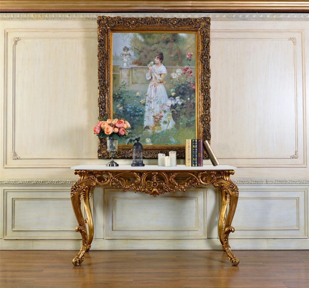 "FON-5202 Painting FON-269 61.375""W x 22.75""D x 35.875""H"