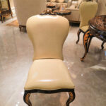 E-70-1 Leather Dining Chair 23.62'' W x 19.29'' D x 41.34'' H