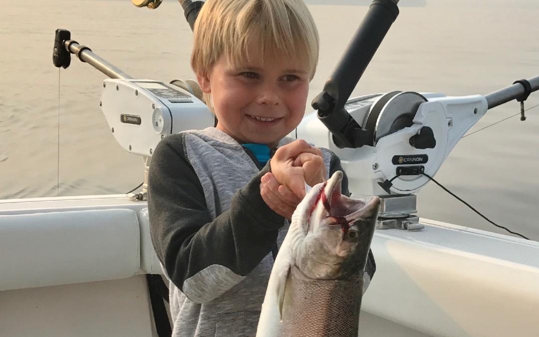 Salmon Fishing Report