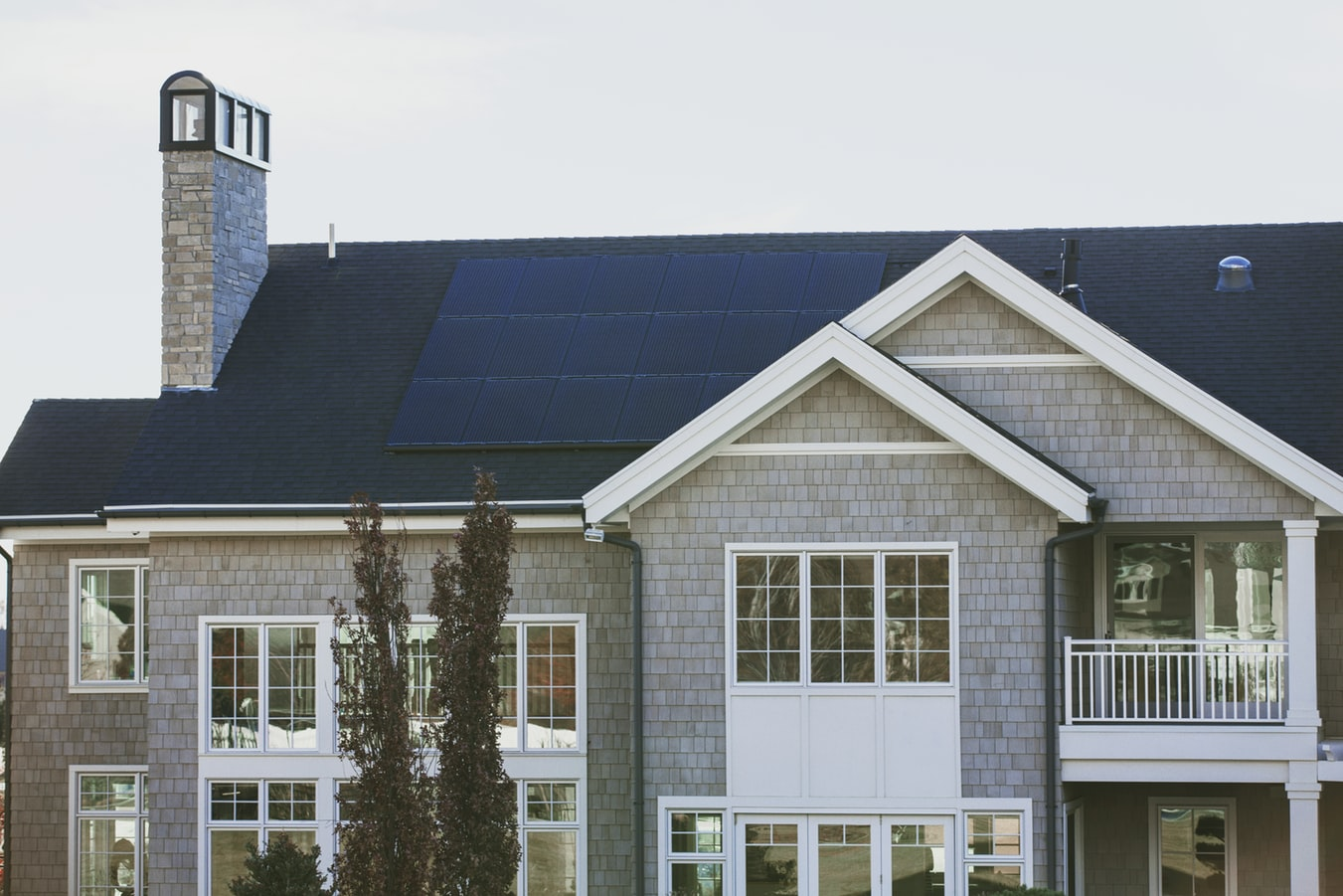 Solar Panels for Your House - House with Rooftop Solar Panels