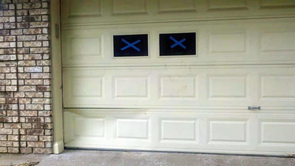Dented Garage Door Image