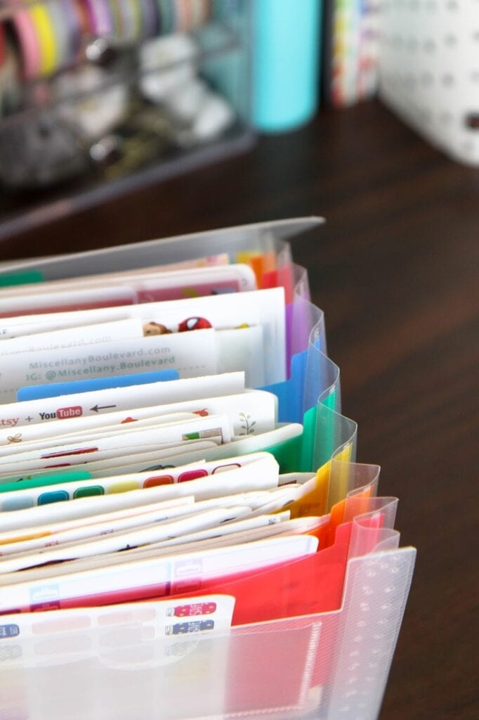 The Best Way to Organize Your Planner Stickers