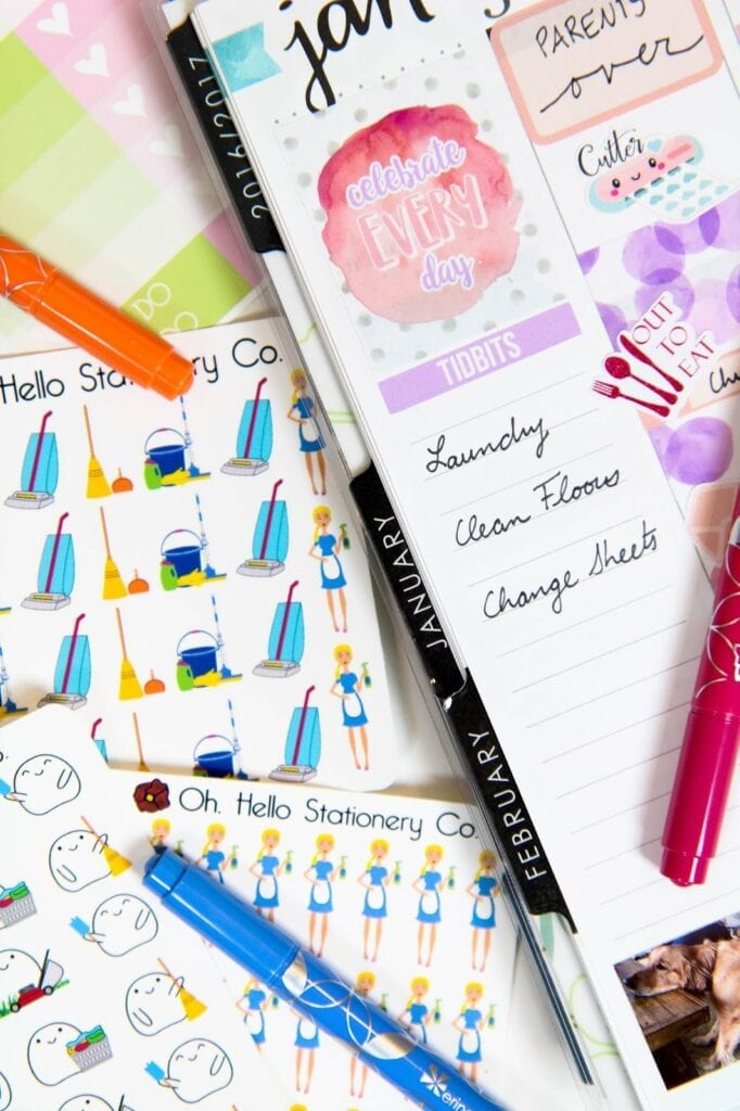 How to Set Realistic Cleaning and Chore Goals in Your Planner