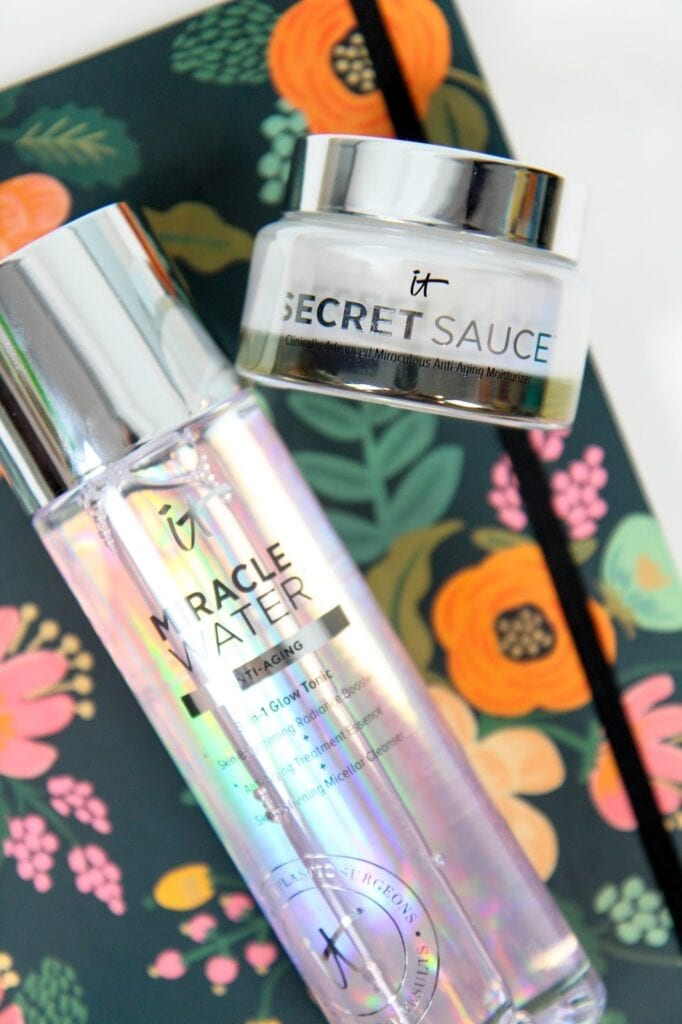 IT Cosmetics Secret Sauce and Miracle Water Review