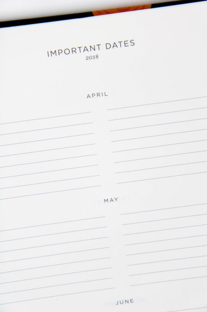 Rifle Paper Co Planner Review | Large Format with Hard Cover and Spiral Binding