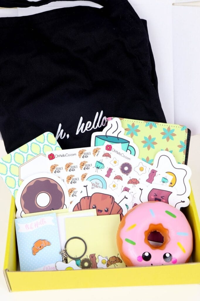What's Inside the First Oh, Hello Box