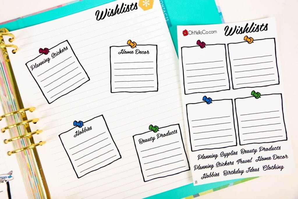Getting the Most Out of Your Planner Note Pages