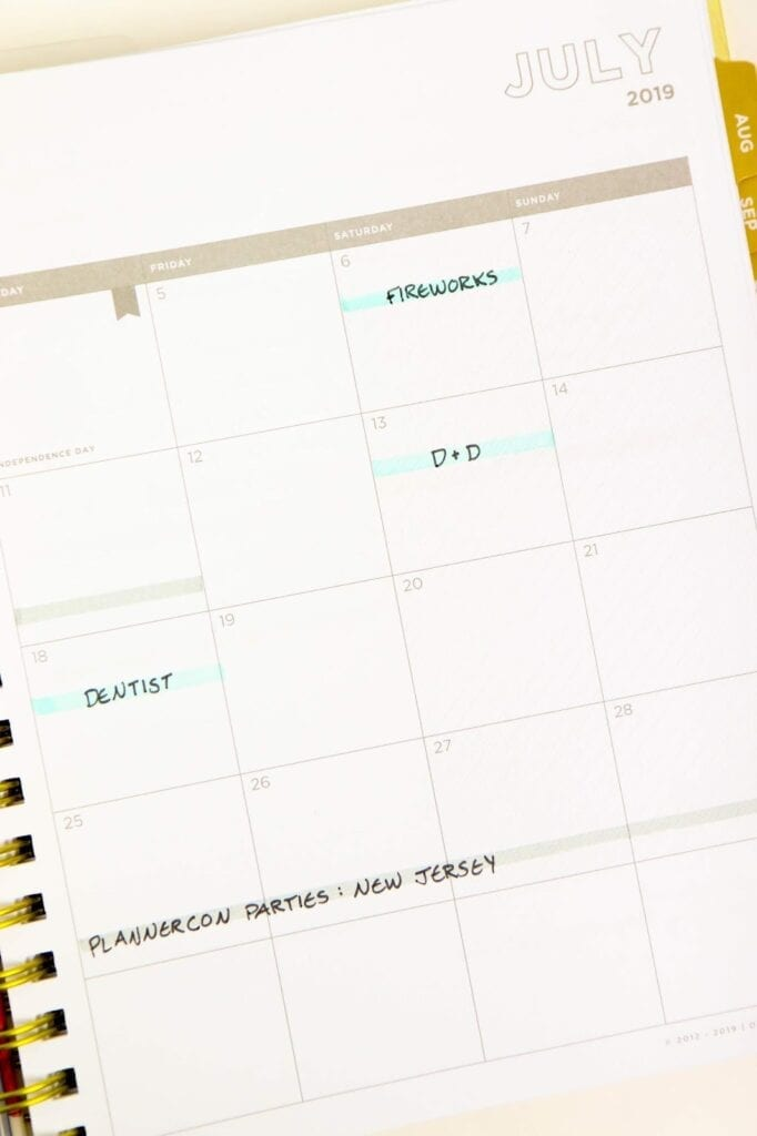 How I Use the Day Designer Planner