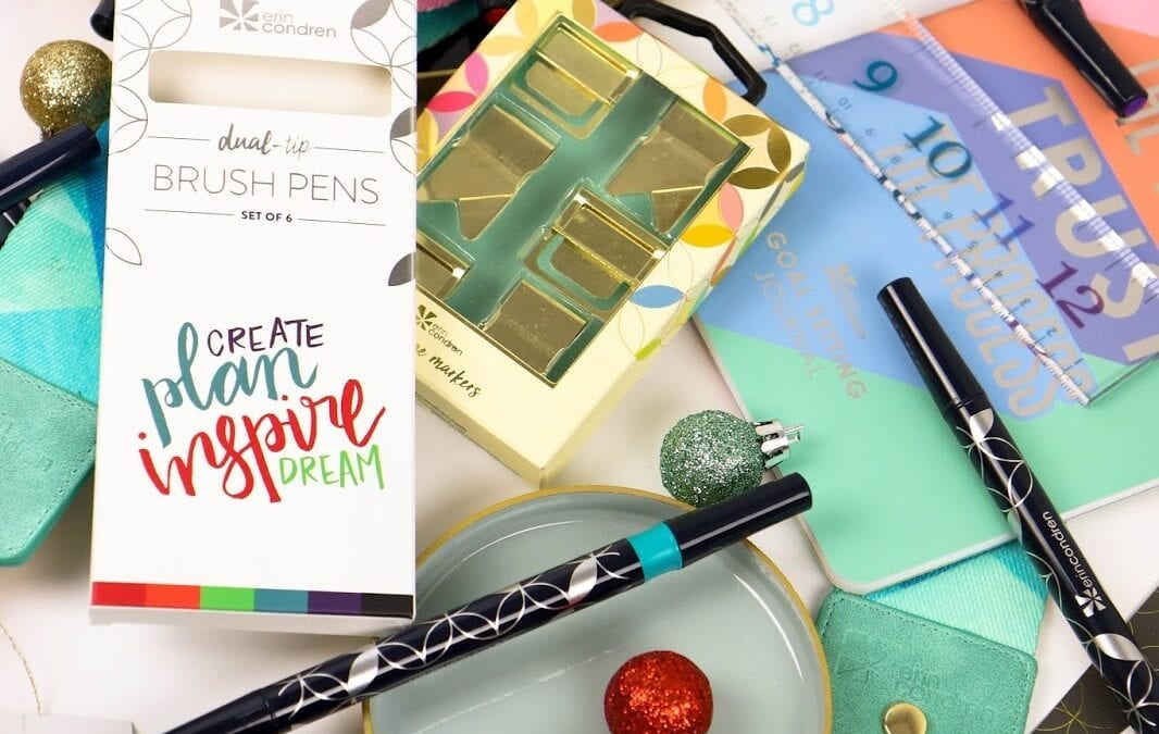 Gift Guide: Gifts for the Planner Addict in Your Life from Erin Condren