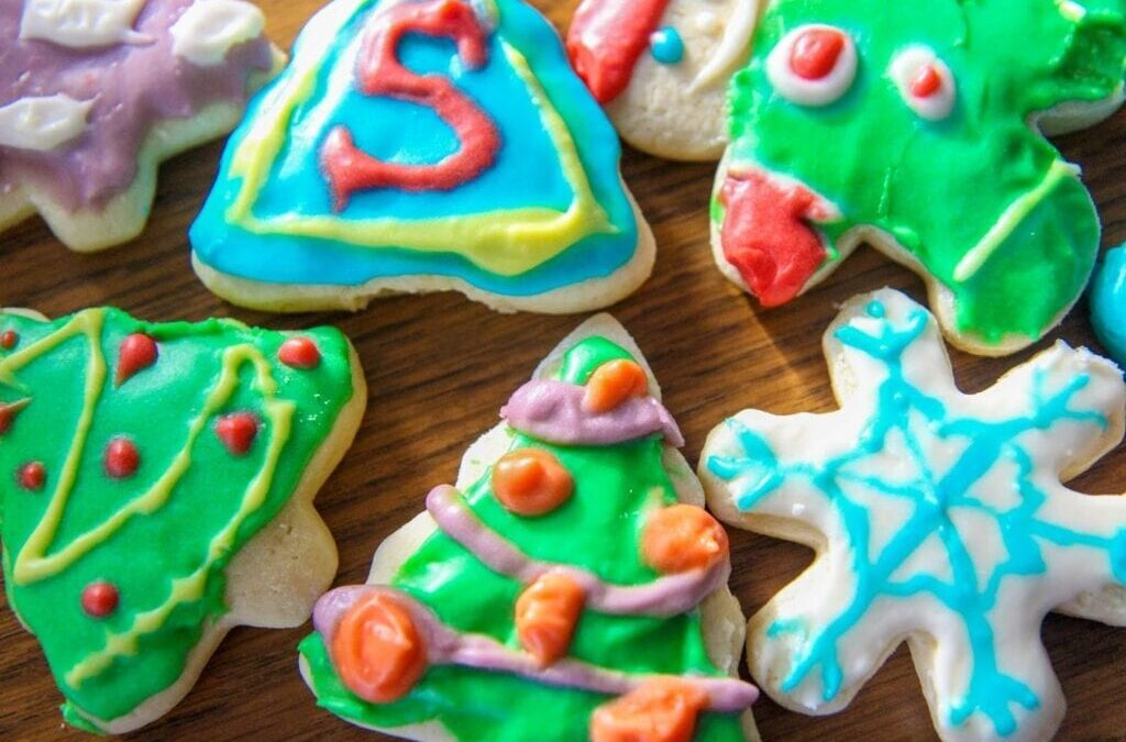 The Best Christmas Cookies Ever (+ Homemade Frosting)