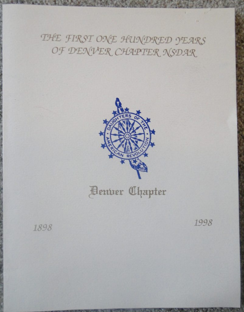 Denver Chapter DAR history