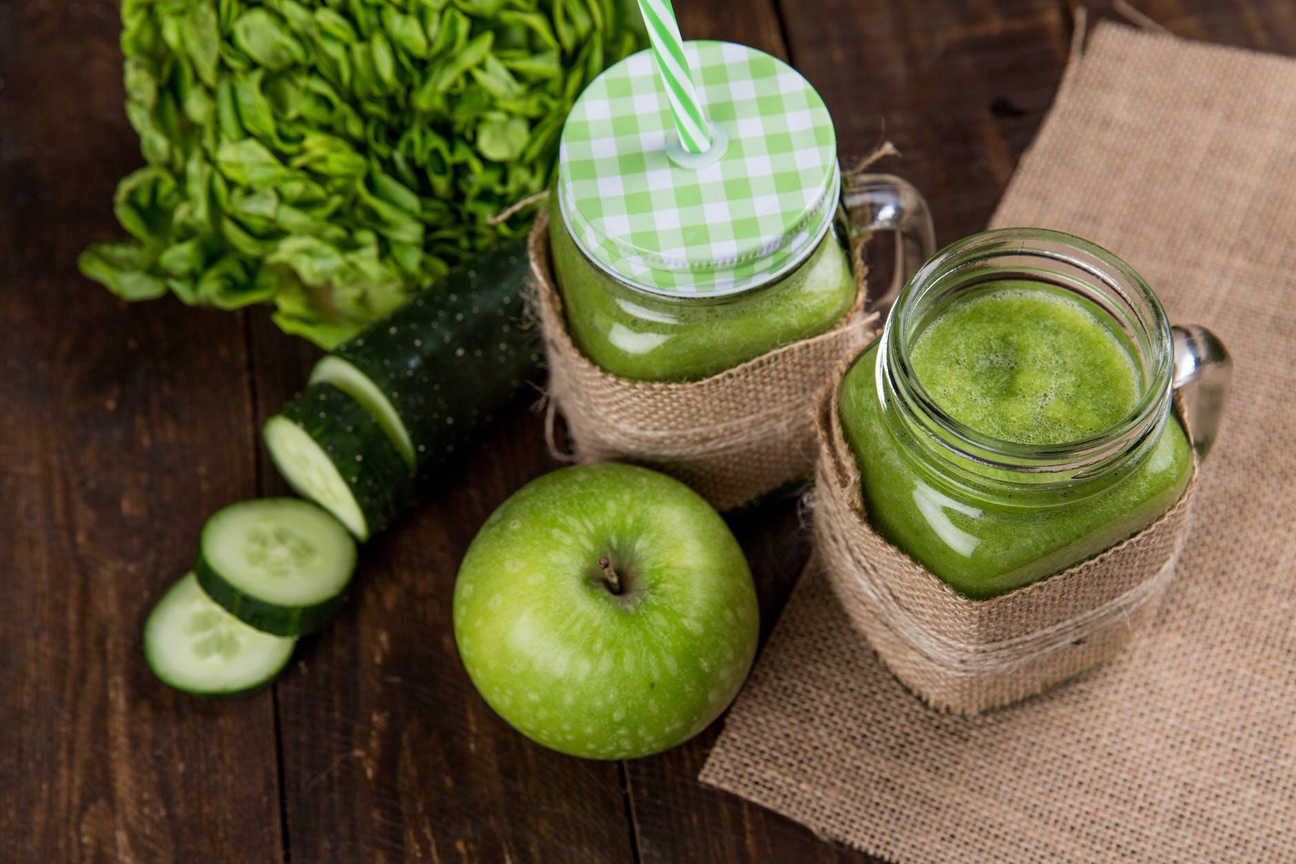 Cucumber lemon ginger juice benefits