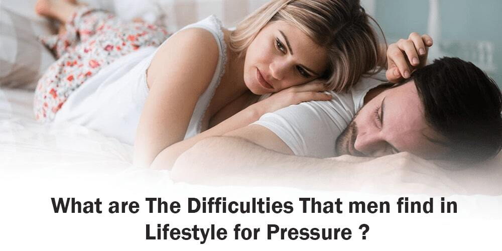 Difficulties that men find in Lifestyle