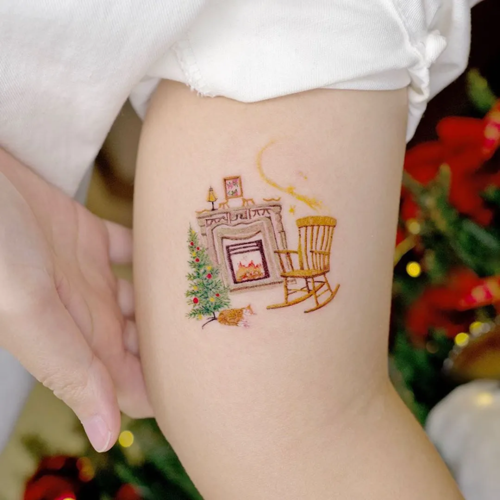 Christmas Fascinating Tattoos