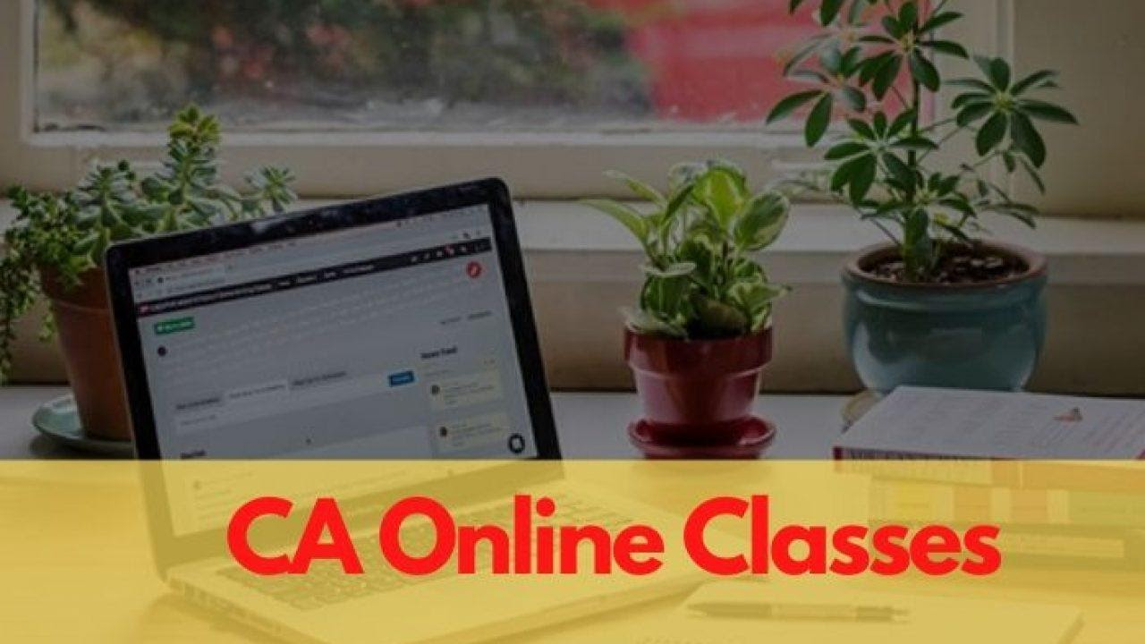 Affordable CA online classes at best CA coaching in India
