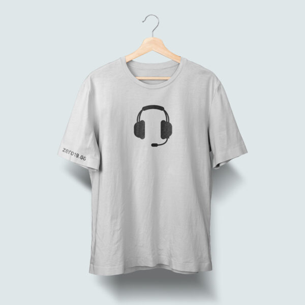Gaming headset t-shirt
