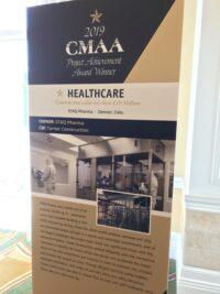 2019 CMAA Project Achievement Award banner