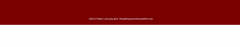 Humphrey Quarter Horses
