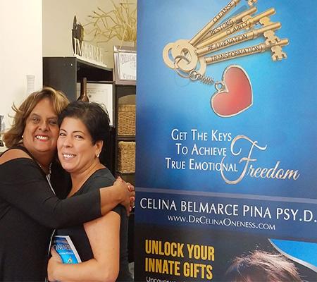 Dr. Celina Book Signing
