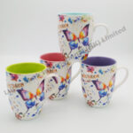 Butterfly Watercolor Mug