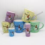 Alaska Watercolor Floral & Bird Matte Finish Whole Set