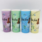 Alaska Watercolor Floral & Bird Shooter