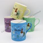 Alaska Watercolor Floral & Bird Mug