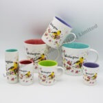 Washington Watercolor Floral & Bird Matte Finish Whole Set