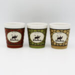 Moose Design Honeycomb Shot Cup