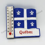 Polyresin Quebec Thermometer Magnet (Customer Design)