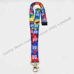 Tie Dye Polyester Lanyard (Customer Design)